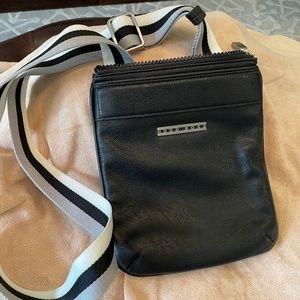 Hugo Boss Leather Messenger